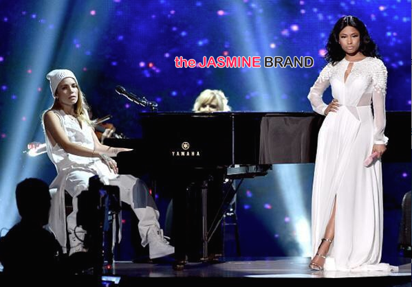 Nicki Minaj-Bed of Lies-AMAs-the jasmine brand