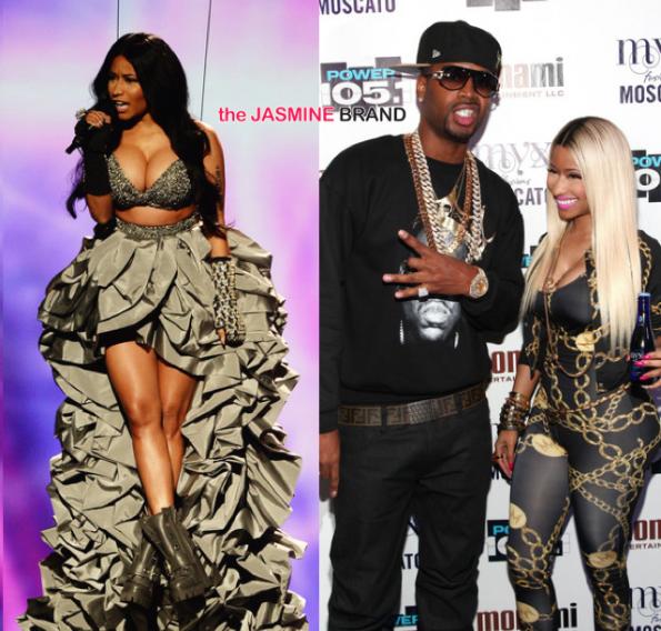 Nicki Minaj-Debuts Bed of Lies-New Music-MTV EMA 2014-About Ex Boyfriend Safaree-the jasmine brand