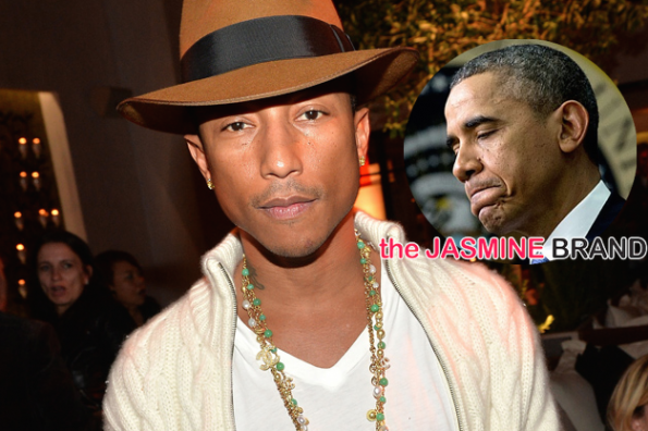 Pharrell-Says Obama Should Have Went to Ferguson-Mike Brown-the jasmine brand