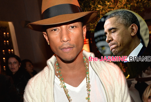Pharrell: President Obama Should Have Traveled to Ferguson.
