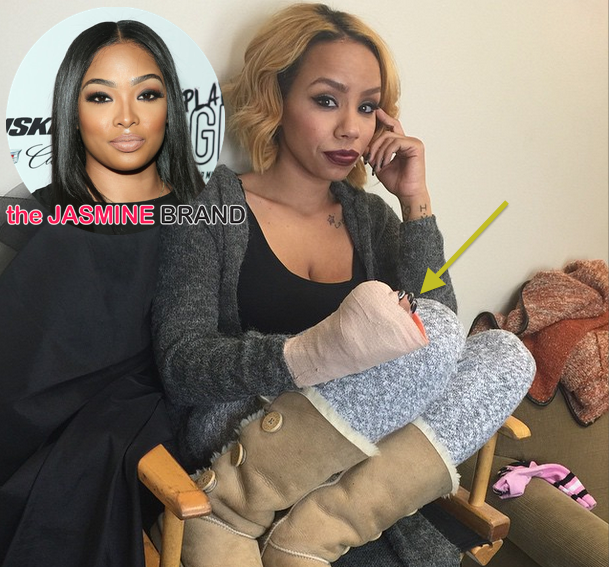 Brawl Pops Off Between Ray J's Girlfriend Princess & Morgan Hardman, During Love & Hip Hop Hollywood Reunion [VIDEO]