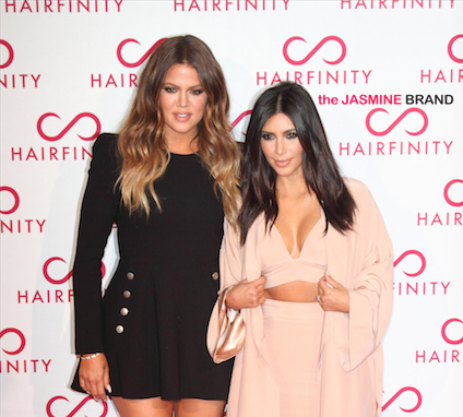Kim Kardashian, Khloe Kardashian Attend 'Hairfinity' UK Launch [Photos]