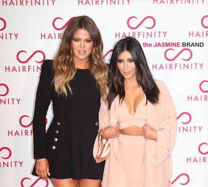 Kim Kardashian, Khloe Kardashian Attend 'Hairfinity' UK Launch [Photos]