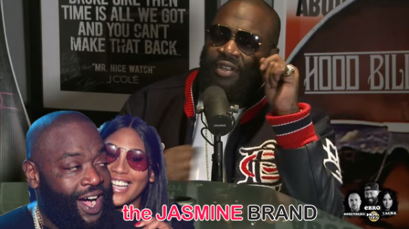 Rick Ross-Addresses Rumored Relationship With Rumored Girlfriend Ming Lee-the jasmine brand
