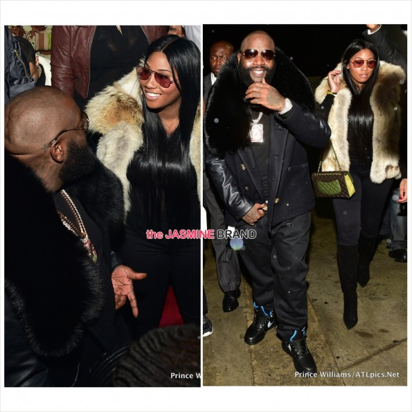 Rick Ross-Rumored Girlfriend Ming Lee-the jasmine brand