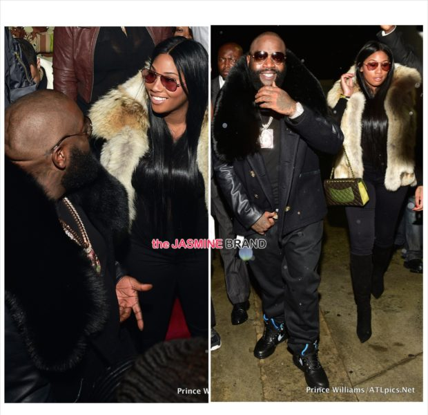 Cup Cakin': Rick Ross Celebrates 'Hood Billionaire' With Rumored Girlfriend Ming Lee [Photos]