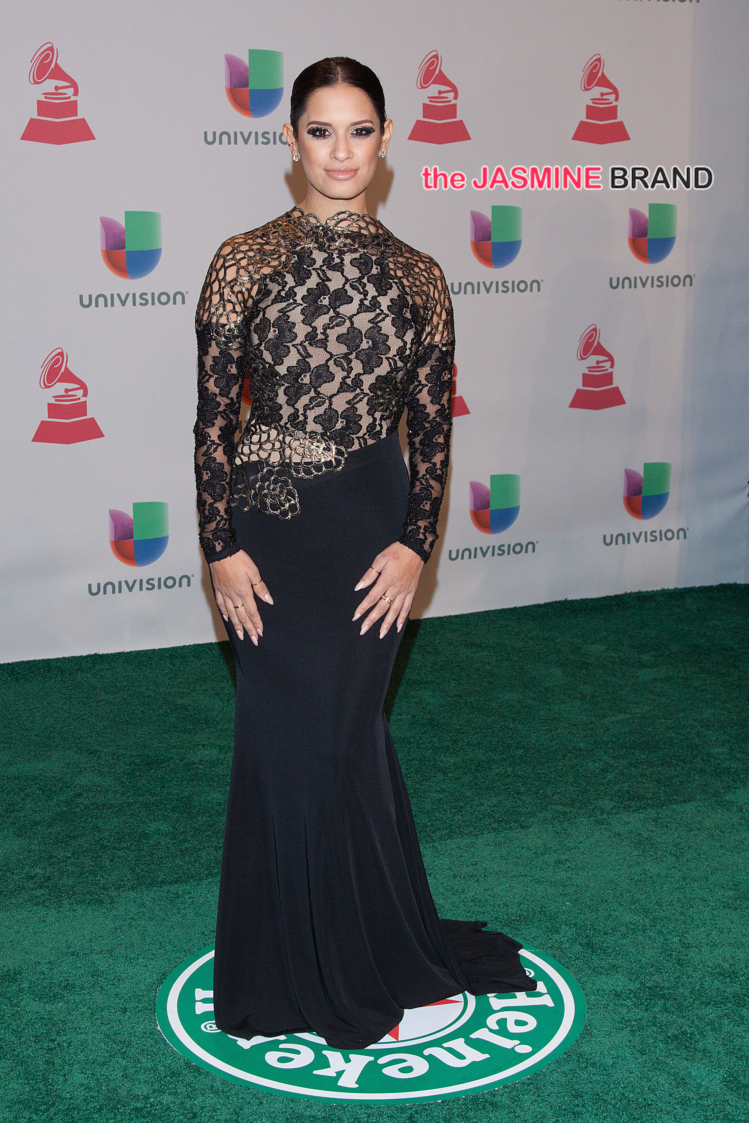 Rocsi Diaz Dania Ramirez at the 2014 Latin Grammy awards in Las Vegas