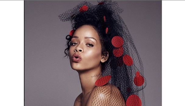 Rihanna Talks P*nis, Fear of Childbirth & Her Rap Mantra With ELLE [Photos]