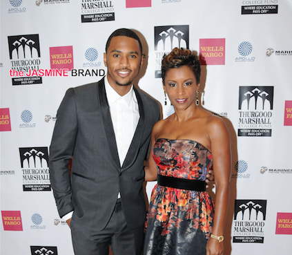 Trey Songz Supports Thurgood Marshall College Fund, Alexandra Shipp Visits Wendy Williams, Lauren London & Nipsey Hussel Boo'ed Up + 50 Cent, Omarion, LL Cool J