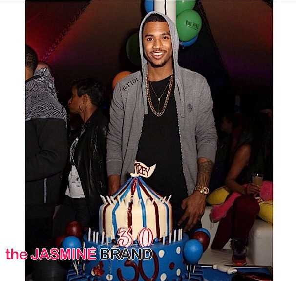 Trey Songz Celebrates Carnival Birthday Bash: Chris Brown, August Alsina, Sevyn Streeter Attend [Photos]