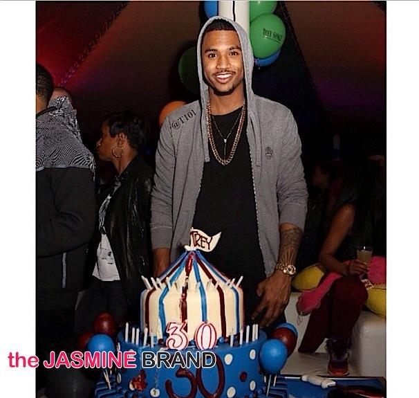 Trey Songz Celebrates Carnival Birthday Bash: Chris Brown, August Alsina, Sevyn Streeter Attend [Photos]