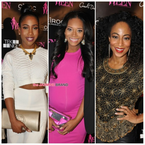 Sevyn Streeter-Yandy Smith-Africa-WEEN Awards 2014-the jasmine brand