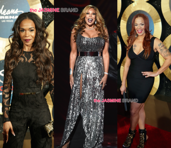Soul Train Awards 2014-Michelle Williams-Faith Evans-Wendy Williams the jasmine brand