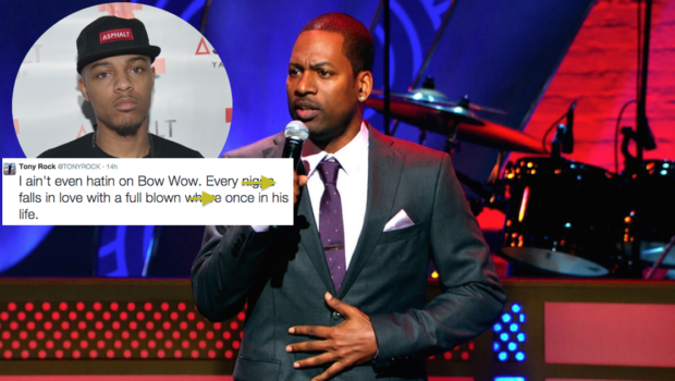 Fighting Words! Tony Rock Calls Bow Wow's Fiancee A Full Blown Wh*re!