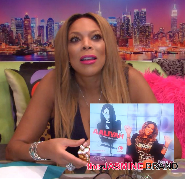 Wendy Williams Is 'Proud' Of 'Aaliyah' Movie: You really can't win! [VIDEO]