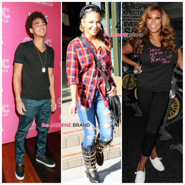 Will Smith Son-Christina Milian Beverly Hills Kyle-Wendy Williams Soul Cycle-the jasmine brand