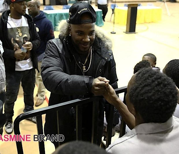 Jeezy Surprises 120 Detroit Juvenile Detention Center Residents [Photos]