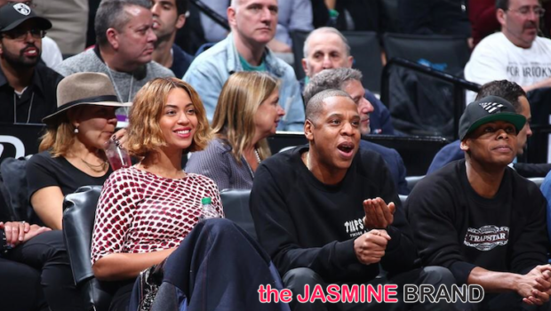 Beyoncé & Jay Hit Nets Game + Is Bey Secretly Releasing Another Album?