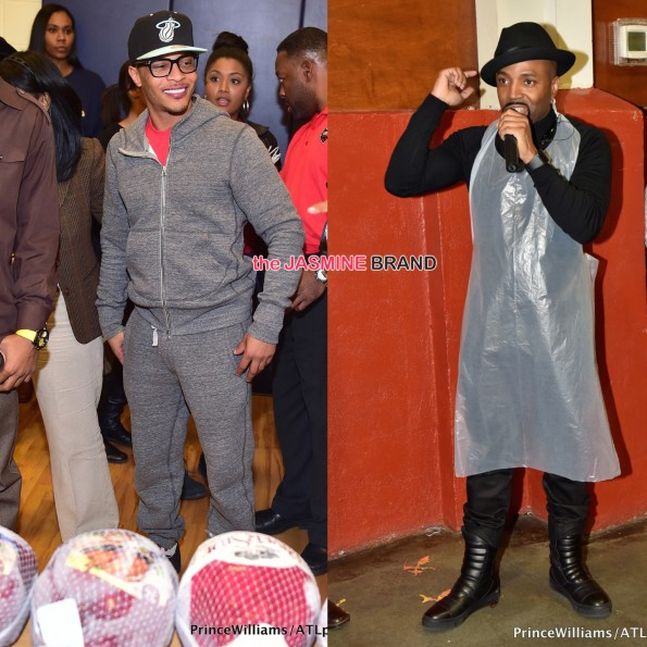 celebrities give back thanksgiving-ti-teddy riley-the jasmine brand