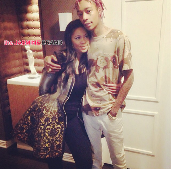 celebrity couples-wiz khalifa-deelishis-the jasmine brand