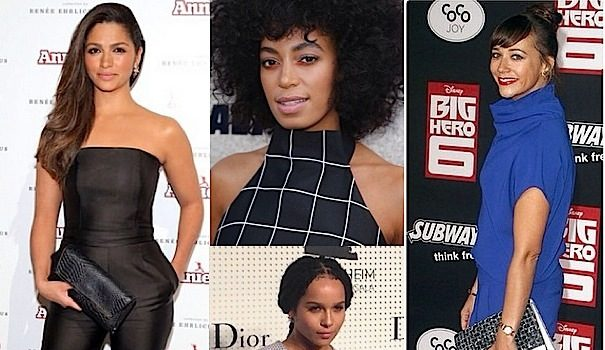 Celebrity Fashion of the Week: Rashida Jones, Zoe Kravitz, Joan Smalls, Jourdan Dunn & Jamie Chung