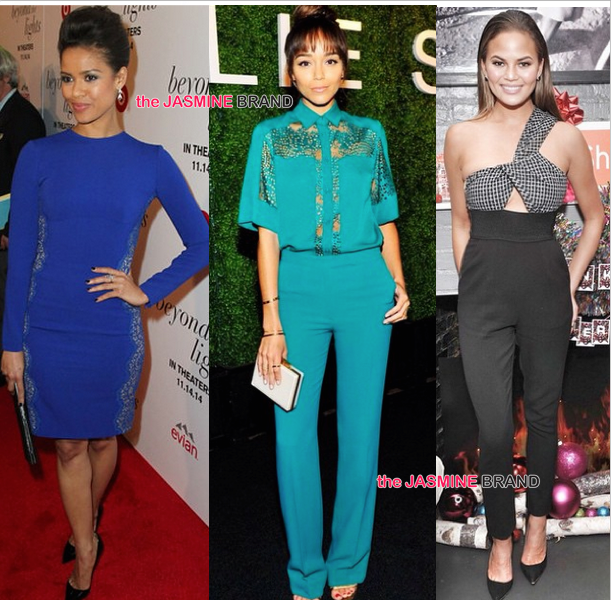 Celebrity Fashion of the Week: Ashanti, Gugu Mbatha Raw, Ashley Madekwe, Rihanna, Chrissy Teigen