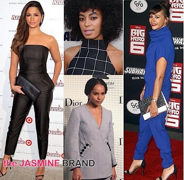 Celebrity Fashion of the Week: Rashida Jones, Zoe Kravitz, Joan Smalls, Jourdan Dunn & Jamie Chung