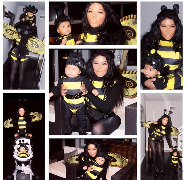 celebrity halloween costume lil kim-the jasmine brand  sc 1 st  theJasmineBRAND & Celebrity Halloween Left-Overs: Rihanna Lil Kim Keri Hilson ...