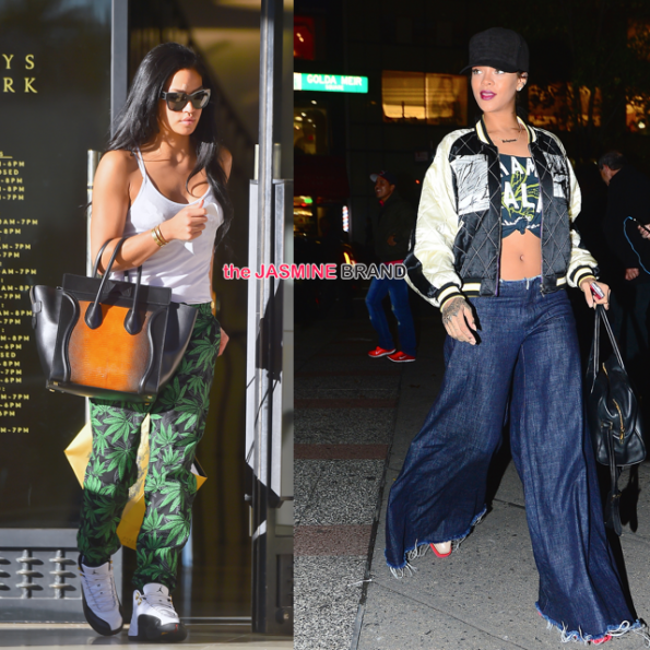 celebrity spotting-cassie beverly hills-rihanna roc nation office-the jasmine brand