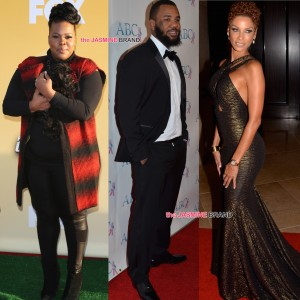 celebrity spottings-amber riley-the game-nicole murphy-the jasmine brand