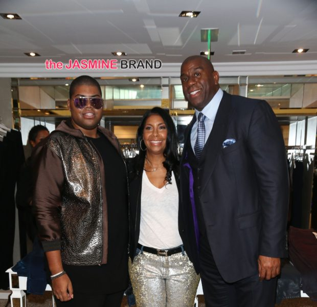 Cookie Johnson Hosts Trunk Show: Magic Johnson, EJ Johnson & Kyle Richards Attend [Photos]