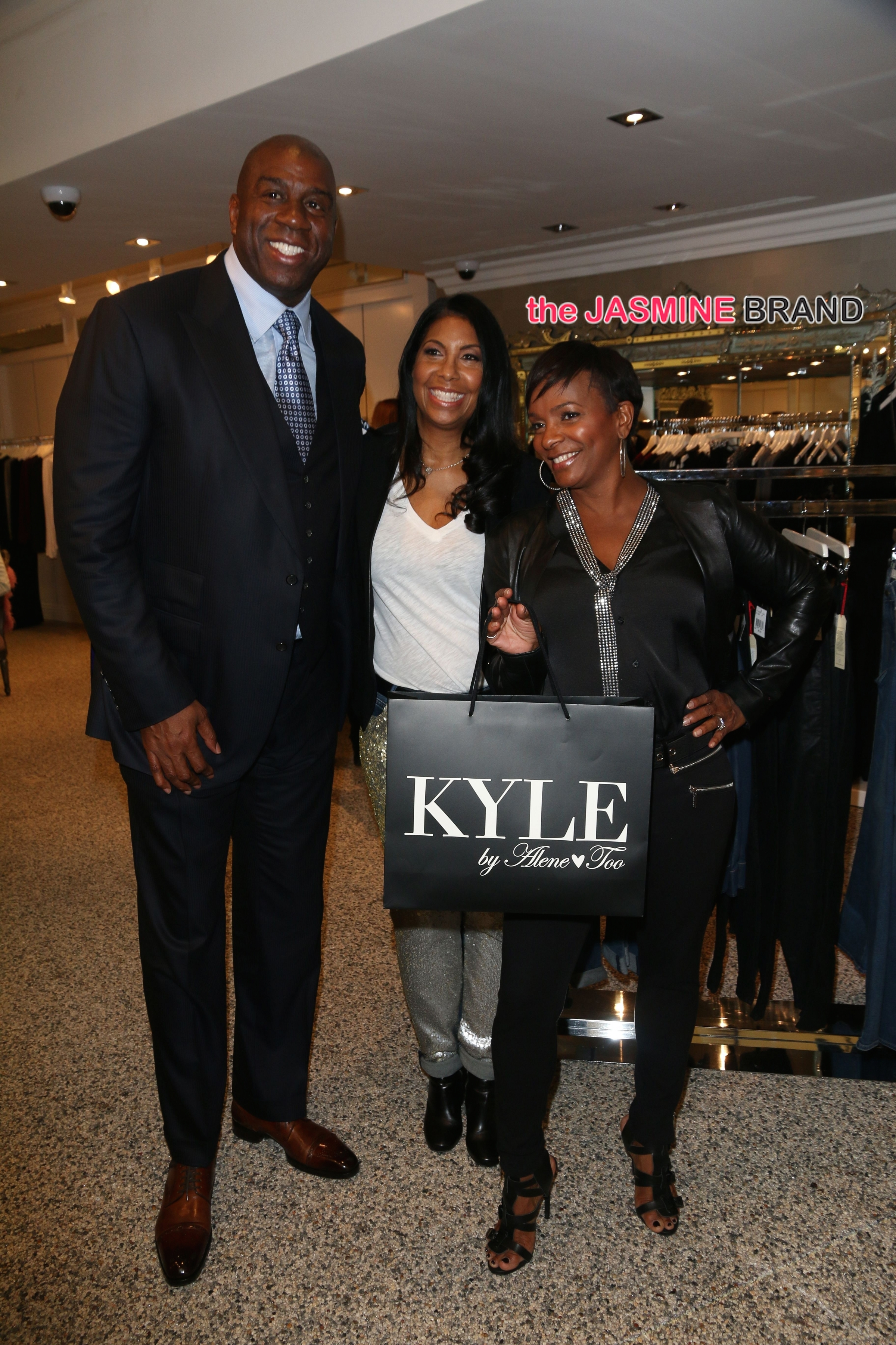 Kyle Richards Hosts Cookie Johnson Trunk Show at Kyle By Alene Too Boutique Store in Beverly Hills on October 30, 2014