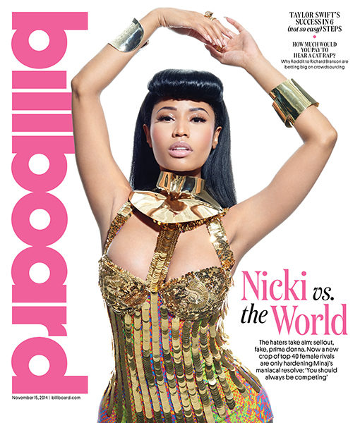 Nicki Minaj Talks Back-Handed Compliments, Beyonce & Sex (Sorta) With Billboard