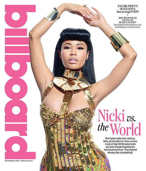 Nicki Minaj Talks Back-Handed Compliments, Beyonce & Sex (Sorta) With Billboard
