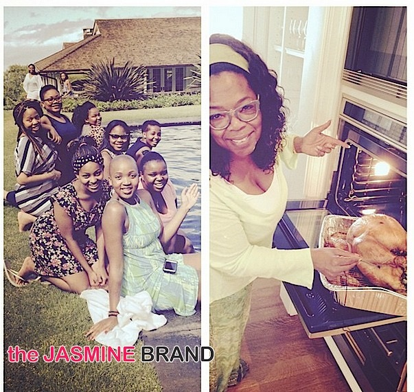 Celebrity Thanksgiving Photos: Oprah, Rita Ora, Jesse Williams, Alicia Keys, Angela Simmons