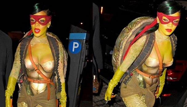 Celebrity Halloween Left-Overs: Rihanna, Lil Kim, Keri Hilson & Serge Ibaka, Floyd Mayweather, Kylie Jenner [Photos]