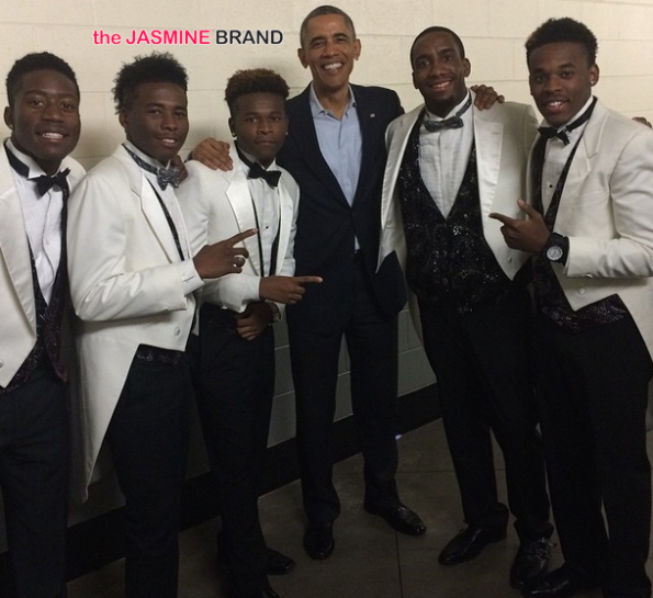 singing group-brotherly love-performs for president obama-the jasmine brand