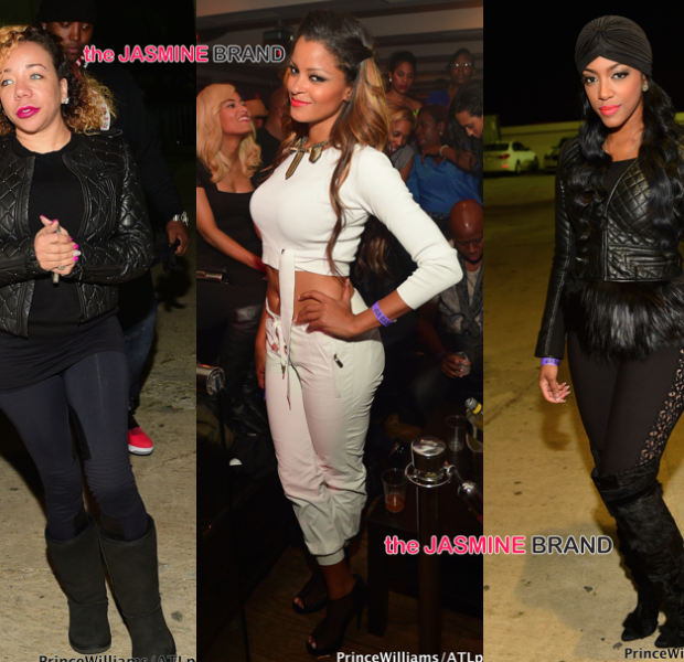 ATL Club Scene: Kandi Burruss, T.I., Tiny Harris, Claudia Jordan, Porsha Williams, Young Thug [Photos]