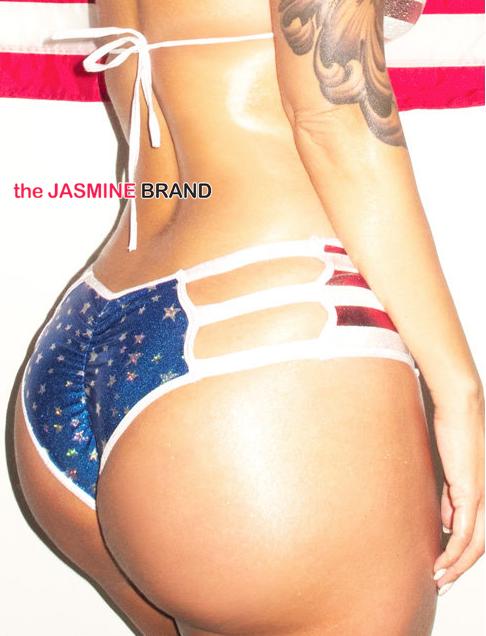 Amber Rose-Oyster Magazine Spread-the jasmine brand
