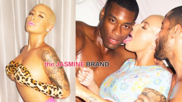 Amber Rose Serves Muva, MILF & Baldhead Scallywag For 'Oyster' [Photos]