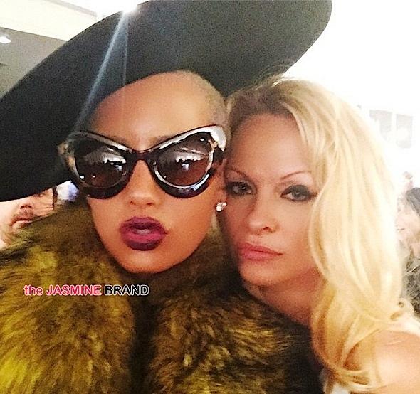Amber Rose-Pamela Anderson-the jasmine brand