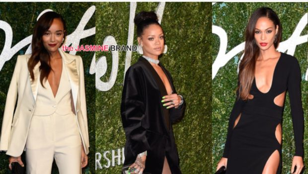 Rihanna, Joan Smalls, Naomi Campbell Attend British Fashion Awards + The Winners! [Photos]