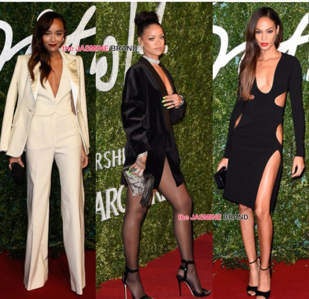 Rihanna, Joan Smalls, Naomi Campbell Attend British Fashion Awards + The Winners! [Photos]