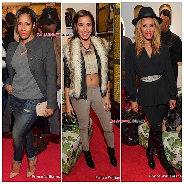 Atlanta Loubotin Store Opening-Nikki Chu-Sheree Whitfield-Julissa Bermudez-the jasmine brand