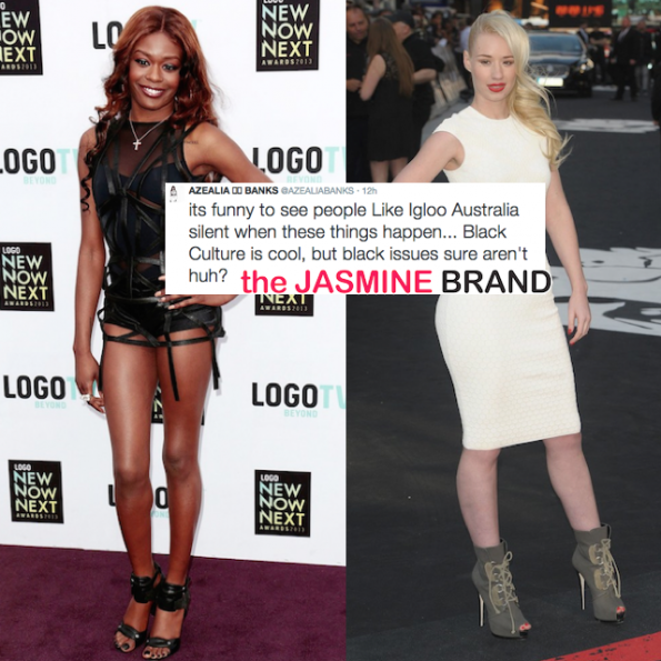 Azealia Banks-Vs Iggy Azalea Beef-the jasmine brand