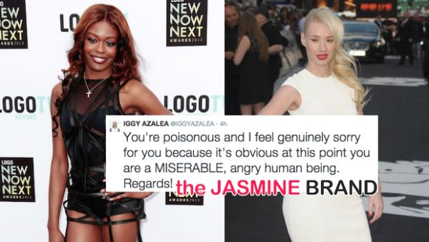 Iggy Azalea Calls Azealia Banks A Miserable, Poisonous Bigot