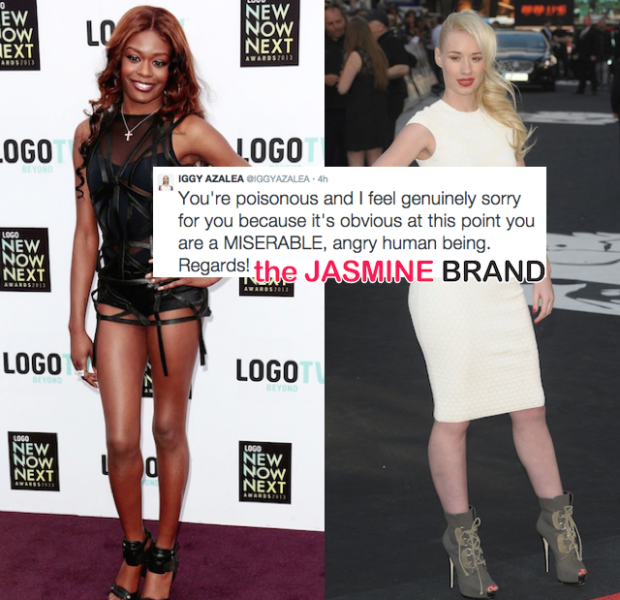 Iggy Azalea Calls Azealia Banks A Miserable, Poisonous Bigot