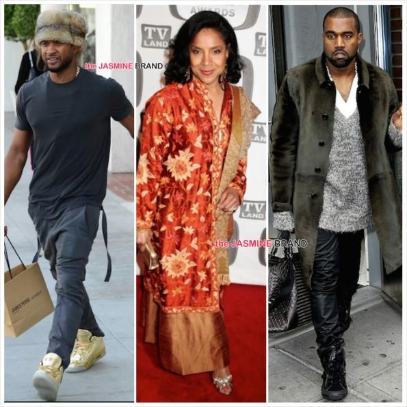 BET Honors-Phylicia Rashad-Usher-Kanye West-the jasmine brand