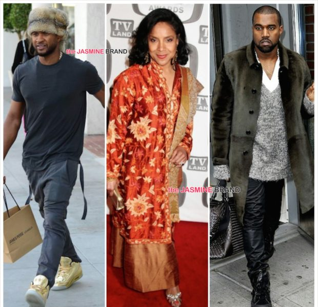 BET Honors Announces Kanye West, Phylicia Rashad, Usher Raymond As Honorees