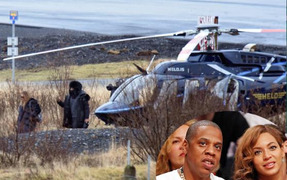 Beyonce Celebrates Jay Z's 45th Birthday in Iceland
